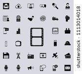 filmstrip icon. detailed set of ... | Shutterstock .eps vector #1113014018