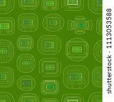 world championship stadiums... | Shutterstock .eps vector #1113053588