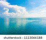 aerial view of beautiful sea... | Shutterstock . vector #1113066188