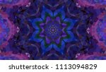 geometric design  mosaic of a... | Shutterstock .eps vector #1113094829