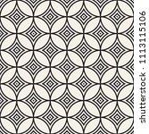 vector seamless pattern. modern ... | Shutterstock .eps vector #1113115106