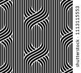 vector seamless pattern. modern ... | Shutterstock .eps vector #1113115553