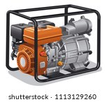 illustration of industrial and... | Shutterstock .eps vector #1113129260