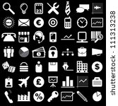 vector illustration of business ... | Shutterstock .eps vector #111313238