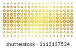 cancel icon gold halftone...   Shutterstock .eps vector #1113137534