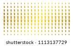 death scytheman icon gold... | Shutterstock .eps vector #1113137729