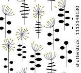 modern vector abstract seamless ... | Shutterstock .eps vector #1113148130