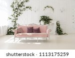 luxury delicate interior of... | Shutterstock . vector #1113175259
