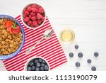 tasty natural and healthy... | Shutterstock . vector #1113190079