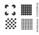 square logo templates. memphis... | Shutterstock .eps vector #1113198116