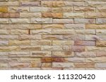 brick wall texture background | Shutterstock . vector #111320420