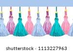 seamless border pattern ... | Shutterstock .eps vector #1113227963