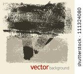 grunge textures  vector set 5 | Shutterstock .eps vector #111324080
