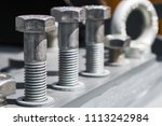 bolts and metal fittings for... | Shutterstock . vector #1113242984