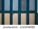 wood door background wall... | Shutterstock . vector #1113258989