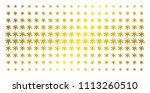 blot icon gold halftone pattern.... | Shutterstock .eps vector #1113260510