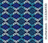 ethnic boho seamless pattern.... | Shutterstock .eps vector #1113264530
