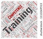 vector conceptual training ... | Shutterstock .eps vector #1113269513