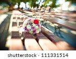 bridal bouquet  wedding bouquet | Shutterstock . vector #111331514
