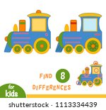 find differences  education... | Shutterstock .eps vector #1113334439