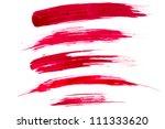 paint brush strokes | Shutterstock . vector #111333620