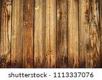 wood texture background. empty...   Shutterstock . vector #1113337076