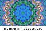 geometric design  mosaic of a... | Shutterstock .eps vector #1113357260