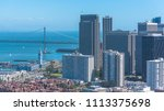 san francisco  panorama of the... | Shutterstock . vector #1113375698