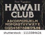 classic vintage decorative font ...   Shutterstock .eps vector #1113384626