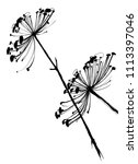 nifty gentle hand drawn...   Shutterstock .eps vector #1113397046