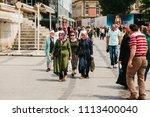istanbul  june 15  2017  local...   Shutterstock . vector #1113400040