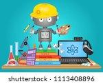 steam education vector | Shutterstock .eps vector #1113408896