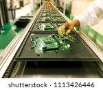 image not focus of hands manual ...   Shutterstock . vector #1113426446