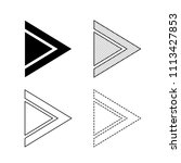 vector arrow icon illustration | Shutterstock .eps vector #1113427853