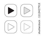 vector arrow icon illustration | Shutterstock .eps vector #1113427913