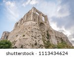 ancient medieval castle in... | Shutterstock . vector #1113434624