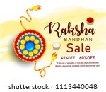 illustration of raksha bandhan  ... | Shutterstock .eps vector #1113440048