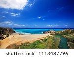 crete island  greece.... | Shutterstock . vector #1113487796