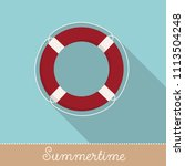 collection of summer holiday... | Shutterstock .eps vector #1113504248