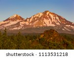 three sisters wilderness ... | Shutterstock . vector #1113531218