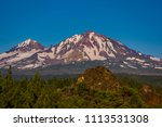 three sisters wilderness ... | Shutterstock . vector #1113531308