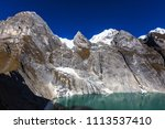 beautiful mountains landscapes... | Shutterstock . vector #1113537410