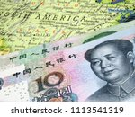 chinese yuan on the united... | Shutterstock . vector #1113541319