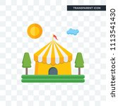 circus vector icon isolated on... | Shutterstock .eps vector #1113541430