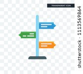 direction vector icon isolated... | Shutterstock .eps vector #1113569864