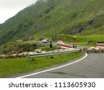 carpathian mountains  romania   ...   Shutterstock . vector #1113605930