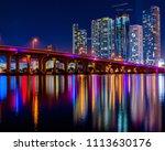 Miami vice skyline