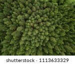 Aerial View From Above On The...