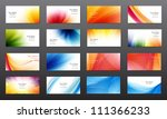 set of 16 vector abstract...