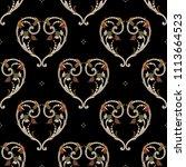 seamless geometrical pattern...   Shutterstock .eps vector #1113664523